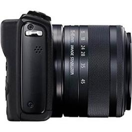 Canon EOS M100 Body With EF-M 15-45mm f/3.5-6.3 IS STM Lens - Black Thumbnail Image 10